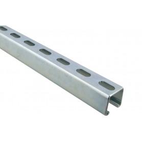 Carril de Fijación 41/21 2,5mm 2 metros
