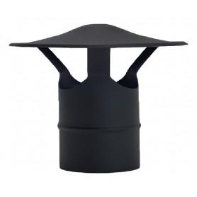 Sombrero Chino Negro Mate