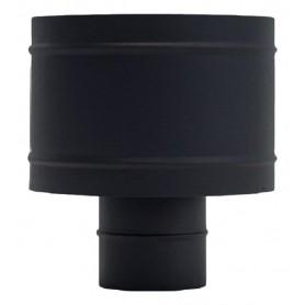Sombrero Antirregolfante Negro Mate