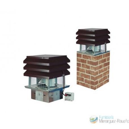 Sombrero aspirador el ctrico ventilador humos de - Salidas de humos para chimeneas ...