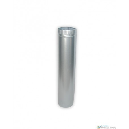 Tubo Liso Galvanizado 1mm