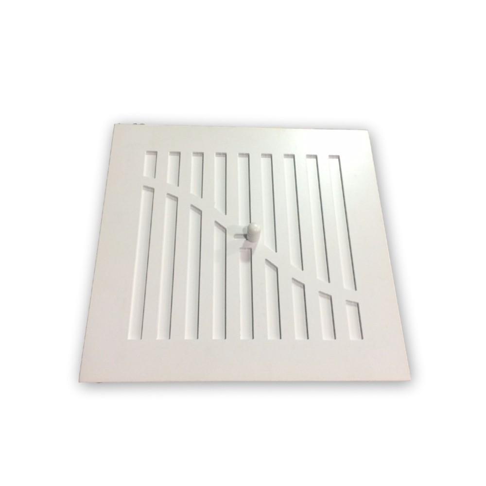 Rejilla de chimenea onda regulable blanco rejillas para - Rejillas para chimeneas ...
