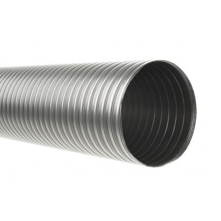 Tubo flexible doble hoja acero inoxidable tubos flexible - Tubos de acero inoxidable para chimeneas ...