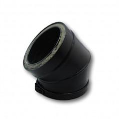 Codo 45º Modular Negro