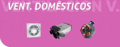 Ventiladores domésticos
